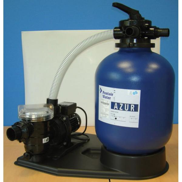 Kit filtration sable azur 5m h pentair filtration piscine hors sol - Filtration sable piscine hors sol ...