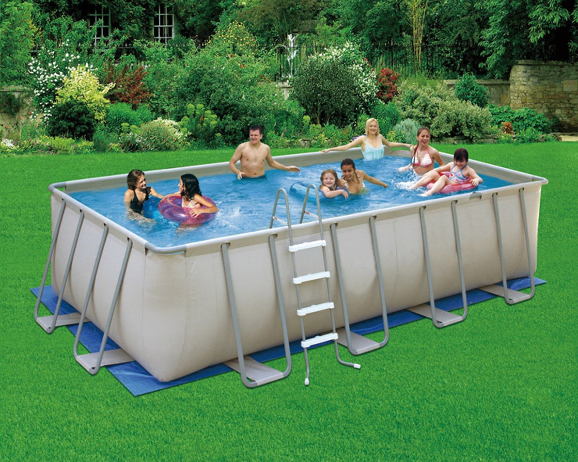 Piscine hors sol tubulaire garden leisure piscine tubulaire for Piscine hors sol blooma