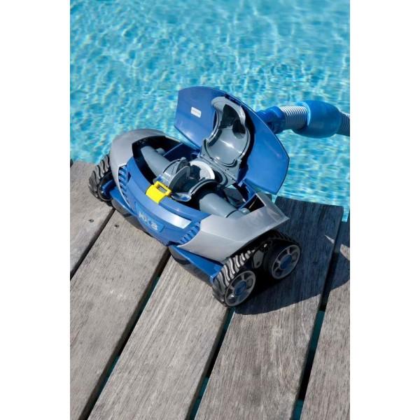 Robot piscine zodiac mx8 de piscine robots hydrauliques for Meilleur robot piscine hydraulique
