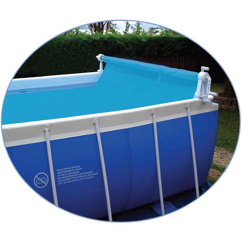 enrouleur de b che bulles piscine hors sol pool style