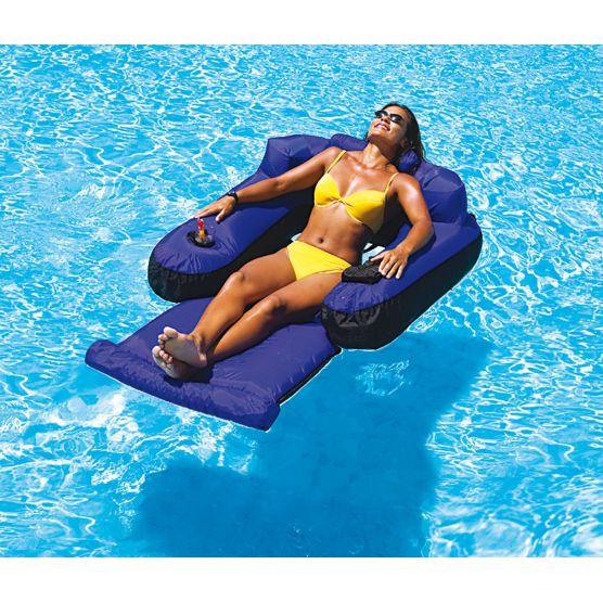Fauteuil matelas gonflable pour piscine piscine shop - Matelas gonflable piscine pas cher ...