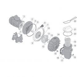 Couvercle de pompe Starite 5P2R ou S5P2R