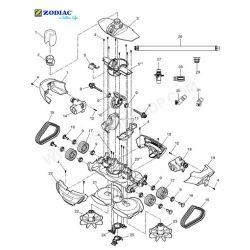 Goupille roue robot MX8