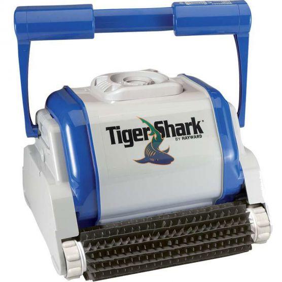 robot tiger shark hayward robot piscine lectrique piscine shop. Black Bedroom Furniture Sets. Home Design Ideas