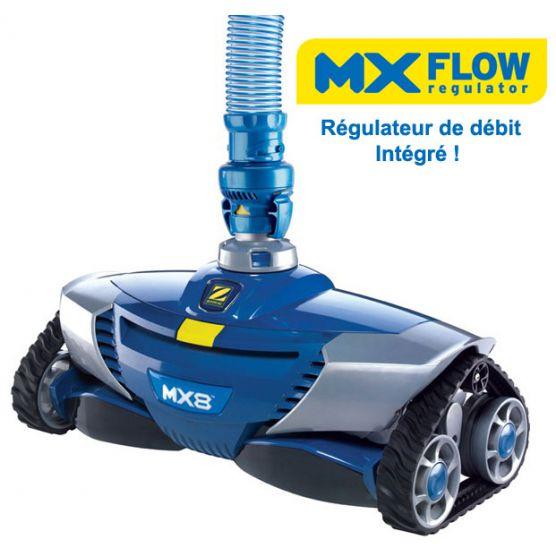 e64a062fbc42c Robot Zodiac MX8 Robot Piscine Hydraulique - Piscine Shop