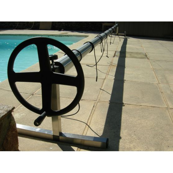 Enrouleur bache piscine en T