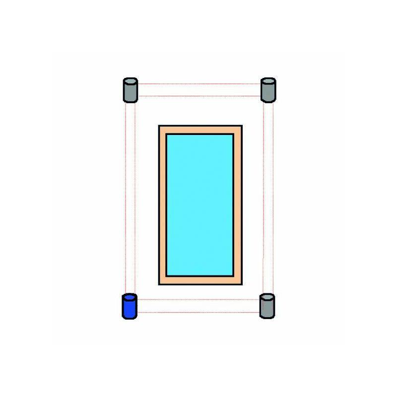 Alarme p rim trique sans fil primaprotect alarme piscine for Alarme de piscine perimetrique