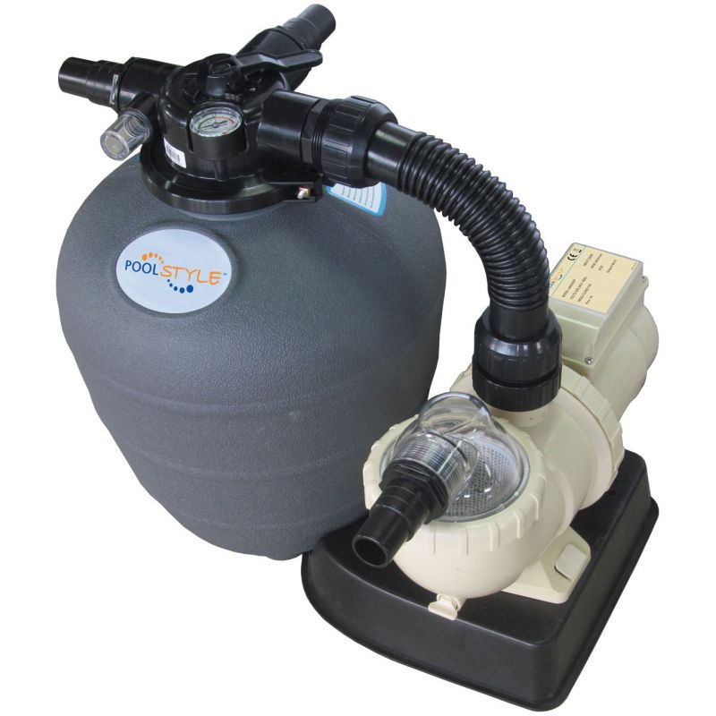 Kit filtration sable pool style filtration piscine hors sol piscine shop - Sable de filtration pour piscine ...