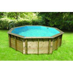 Piscine hors sol en bois piscine bois pas cher piscine for Piscine bois 10m