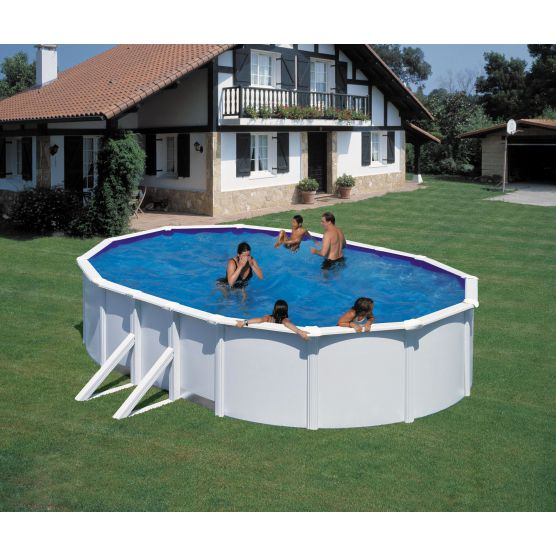 piscine fidji ovale san marina piscine acier piscine shop. Black Bedroom Furniture Sets. Home Design Ideas