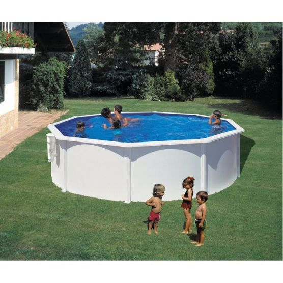 Piscine bora bora ronde gre piscine acier piscine shop for Piscine gonflable 2m diametre