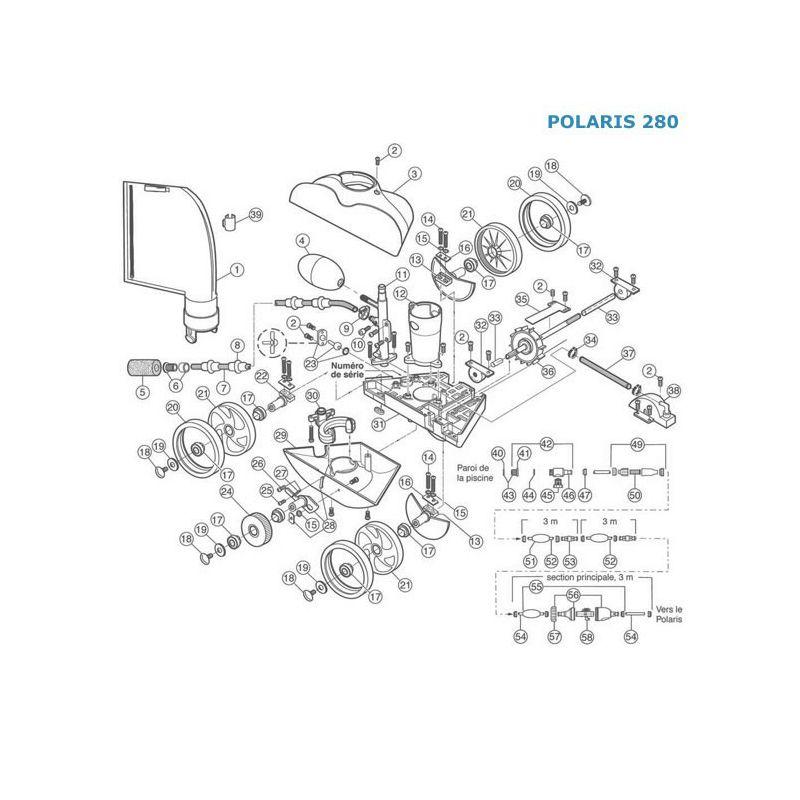 Polaris 280 Pices Dtaches. Fabulous Gallery Of Pices Dtaches Robot ...
