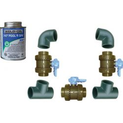Kit By-pass pour pompe à chaleur