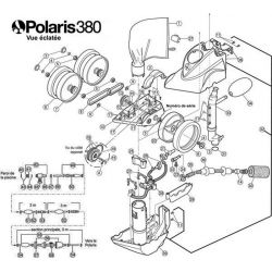 Eclaté du Polaris 380