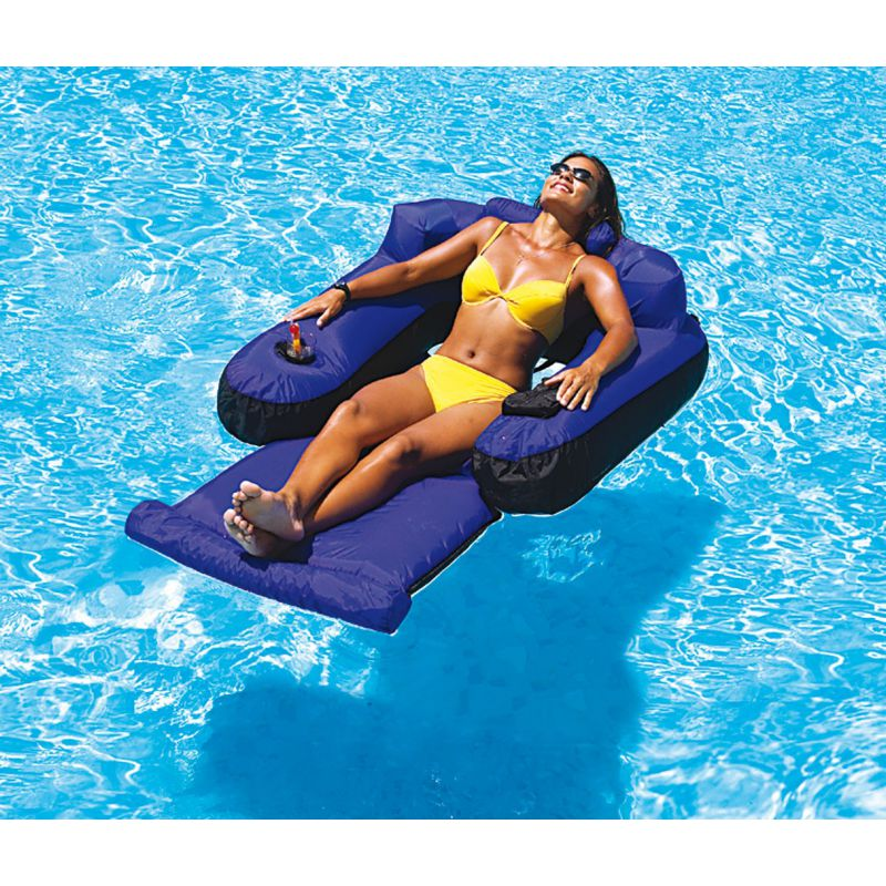 fauteuil matelas gonflable pour piscine piscine shop. Black Bedroom Furniture Sets. Home Design Ideas