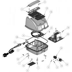 Clavier souple robot Zodiac Vortex 3