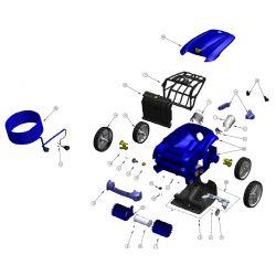 Trappe complète robot Zodiac Vortex 4