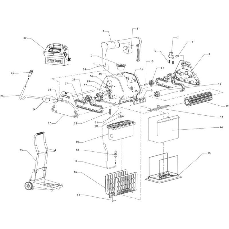 clapet anti retour robot maytronics dolphin 2001 piscine shop. Black Bedroom Furniture Sets. Home Design Ideas