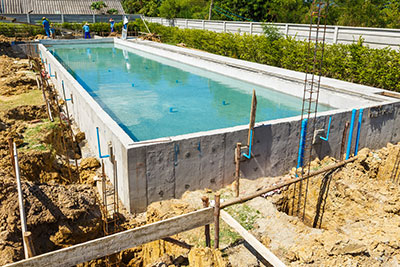 Constuction piscine