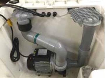 Pompe solubloc dans bloc desjoyaux