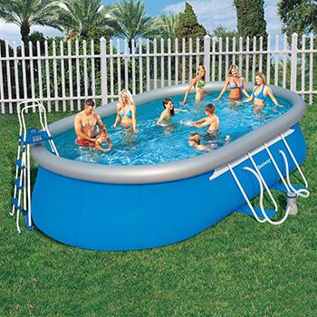robot pour piscine autoportante