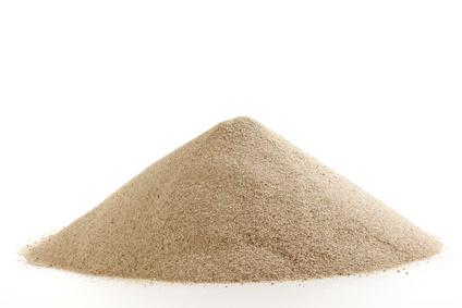 sable filtration piscine